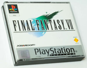 Final Fantasy 7 VII Complete with manual and Demo disc , Sony Playstation one...