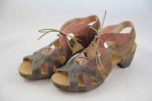 Think Traudi Comfort Sandale für Damen, mehrfarbig