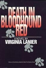 Death in Bloodhound Red (Jo Beth Sidden-ExLibrary