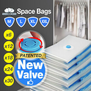 Genuine Vacuum Space Saver Bags Storage Seal Compressing Bag for Clothes Quilt