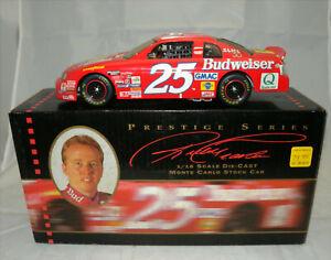 ERTL Prestige Series 1997 Ricky Craven #25 Budweiser Monte Carlo 1:18 Scale BOX