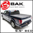 BAK Revolver X2 Hard Rolling Tonneau Bed Cover Fits 2015-2020 Ford F-150 5.5'