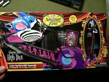 NEW Zhu Zhu Pets THE AMAZING ZHUS HIGH DIVE SET & BALL + Magician Card