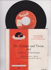 EP,-Maxi-(10,-12-Inch) Single 7'' Vinyl-Schallplatten (1960er) aus Deutschland