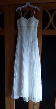 NEU Hochzeitskleid Brautkleid Kleid Creme Ballkleid Gr 40 M Perlen Stickerei