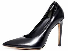 Alexander Wang Black Leather Women Pump Size 36 EUR 1106
