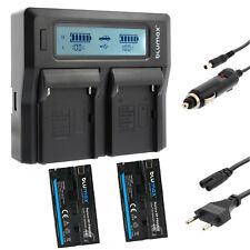 2x Akku für Sony NP-F970 |6600mAh| + Dual Ladegerät Charger NP-F970 |60386|90302