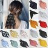 Women's Boho Print Ponytail Scarf Bow Hair Rope Ties Scrunchies Ribbon Hair Band