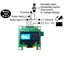 "0.96"" OLED Music Spectrum Display Analyzer MP3 Amplifier Audio Level Indicator"