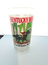 115th Kentucky Derby Churchill Downs Louisville Kentucky Official Glass 1989