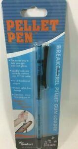 AIR VENTURI .177 cal Pellet Loader Pen for Air Rifle Gun Holds 20 Blue -