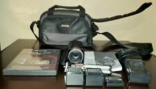 Canon Vixia Hfr300 Camcorder, spare batteries and all accessories