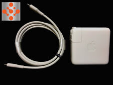 """100% Genuine APPLE MacBook Pro 13"""" 61W USB-C Power Adapter Charger + 2M  Cable"""