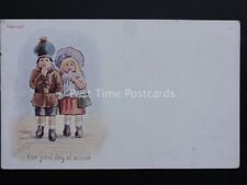 Cynicus: Scottish Children Theme THE FIRST DAY AT SCHOOL c1903 UB
