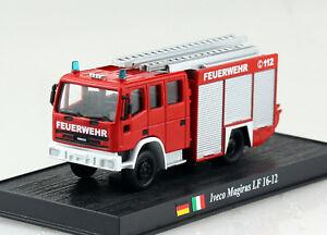 Iveco Magirus LF 16-12 Feuerwehr Del Prado 1:72 Modellauto