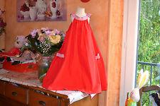 robe  tartine et chocolat  10 ans large poche avec noeuds raye brelogue **