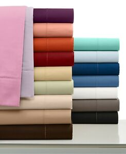 Cozy Bedding Collection 1000TC Organic Cotton US Twin Size Solid Colors