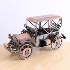 Handmade Iron Crafts Vintage Car Model Retro Home Office Art Decoration Gift