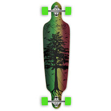 Yocaher Complete In The Pines Series Drop Through Longboard Rasta