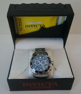 Invicta Men's 0070 Pro Diver Quartz Chronograph Black Dial Watch