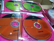 Lot of 4 Demo Discs (disc only) - MICROSOFT XBOX - FREE POST