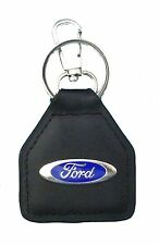 Ford Oval Logo  Quality Leather Keyring