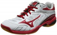 Mizuno Badminton shoes Wave fang SS2 71GA1710 White × Red × Silver