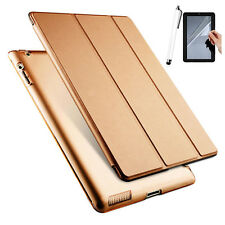 """For iPad 9.7"""" (2017) Magnetic Ultra Slim Smart PU Leather Stand Case Cover +Gift"""