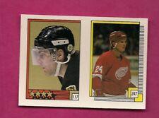 1988-89 OPC # 247 RED WINGS BOB PROBERT ROOKIE STICKER  CARD (INV# A7485)