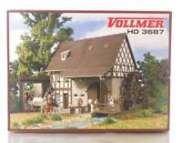 MINT VOLLMER 3687 HO OO GAUGE BUILDING KIT - GRAIN MILL