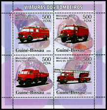 Guinea-Bissau Fire Engines Souvenir Sheet (2006) Mint NH VF C