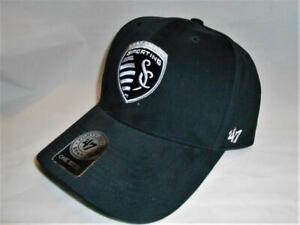 New Licensed MLS Kansas City Sporting Soccer Club '47 Brand Adjustable Hat _B101