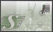 CANADA #2572 THE 100TH GREY CUP GAME - SASKATCHEWAN ROUGHRIDERS FIRST DAY COVER