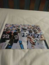 Devin Funchess Carolina Panthers Signed 8x10 Photo  NFL Michigan Wolverines