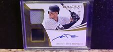 Nicky delmonico immaculate premium dual patch auto 50/99 perfect condition