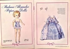 Coco Madame Alexander Doll Magazine Paper Doll, 1990, National Doll World