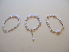 Natural Silver Plated Chain/Link Costume Bracelets