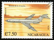 RAF Vickers VC10 Tanker/Airliner Aircraft Stamp (1999 History of Aviation)