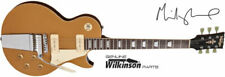 Vintage V100MU Midge Ure Gold Top Electric Guitar P90 Pickups