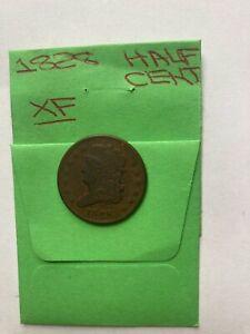 1828 U.S. Half Cent XF13 Stars