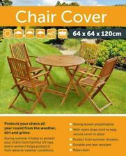 NEW GREEN WATERPROOF CHAIR COVER OUTDOOR GARDEN FURNITURE CHAIR PATIO COVERS