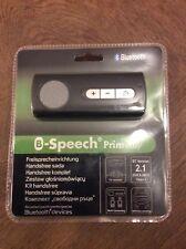 B-Speech Primeeasy Bluetooth Freisprechanlage BT Version 2.1 schwarz  Neu & OVP