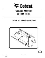 New Bobcat Tiller 38 Inch Repair Service Manual 2008 6987116 Free Shipping