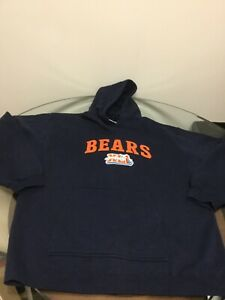 NWOT Chicago Bears Super Bowl XLI Blue Reebok Hoodie Sweatshirt XL New W/O Tags
