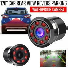 Waterproof 170° CMOS Car Rear View Backup Reverse Camera 8 LED Night Vi NEW