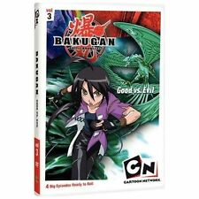 Bakugan Vol. 3: Good Versus Evil (DVD, 2009)