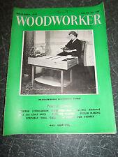 WOODWORKER September 1958 ~ Retro Vintage Illustrated Magazine + Advertising