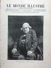 LE MONDE ILLUSTRE 1892 N 1831 N° SPECIAL CONSACRE AU SALON DES CHAMPS ELYSEES