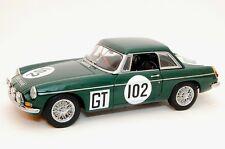 MGB GT MKII #102 24 HOURS NURBURGRING 1967 AUTOART 86781 1/18 RENNSPORT RH