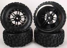 SCT Slash short course and slash truck tires ( Big Block Black Chrome )